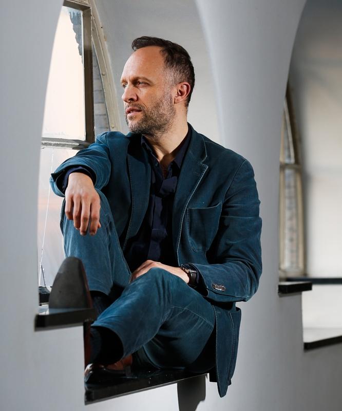 Portret van Hugo Metsers Jr