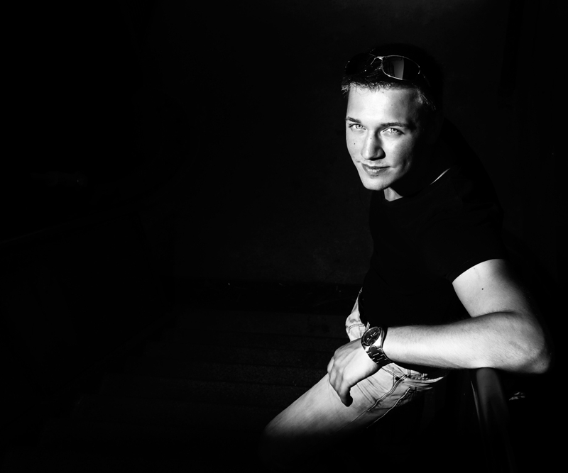 Portret van DJ Antance